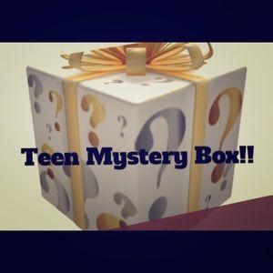A teen mystery box